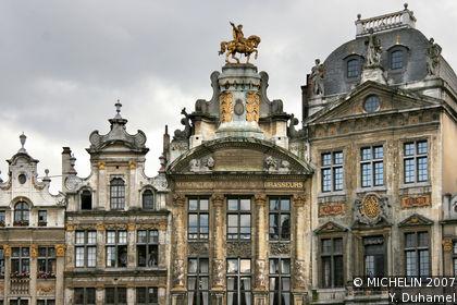 Bruxelles tourisme voyages cartes - Office de tourisme de belgique ...