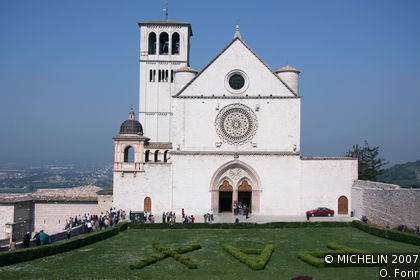 fran 231 is basilica assisi michelin travel