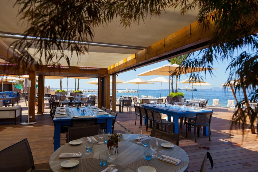 Le cap antibes restaurant uit de michelin gids for Antibes restaurant le jardin