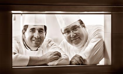 Hervé Raphanel et Guy Lassausaie