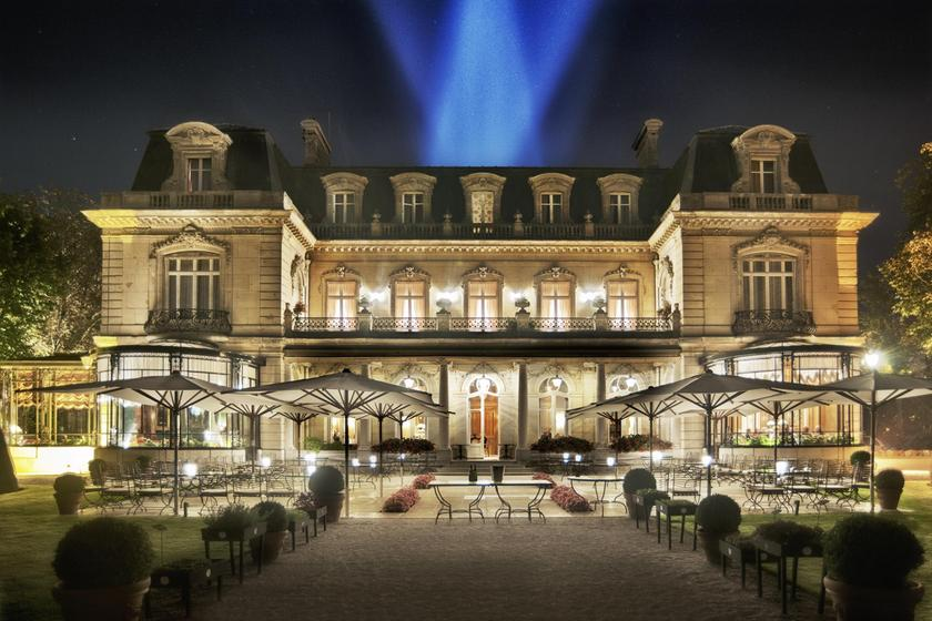 Le parc les cray res rheims a michelin guide restaurant - Jardin des crayeres menu ...