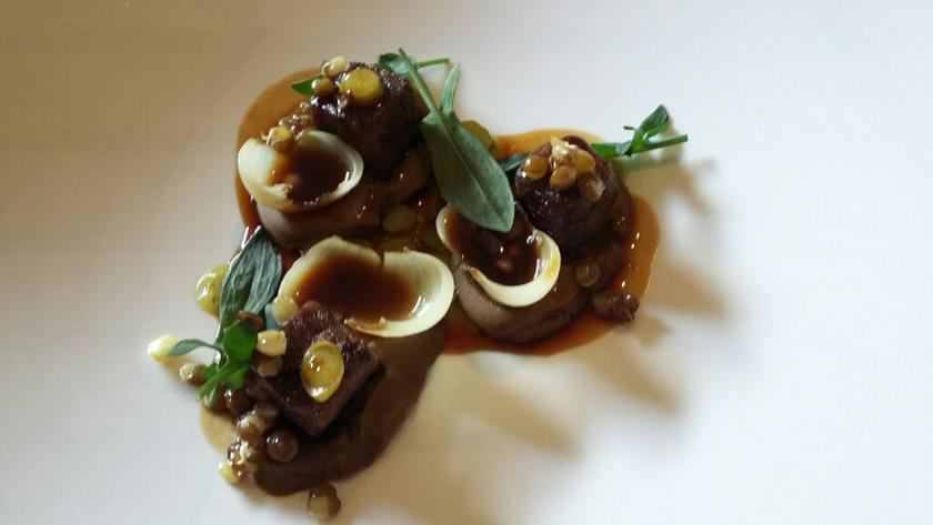 Casa marcial arriondas a michelin guide restaurant for Asturian cuisine