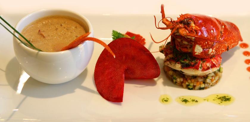 Le jardin de bellevue metz un restaurant du guide michelin - Restaurant le jardin de bellevue metz ...