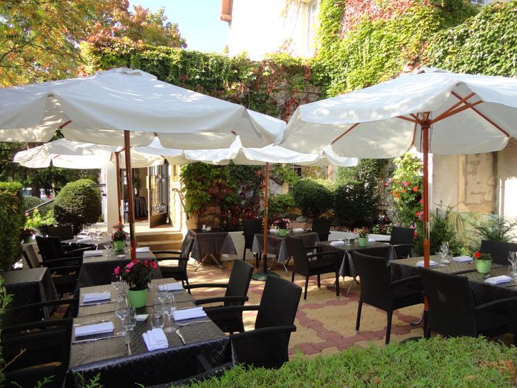 Le jardin de bellevue metz restaurant uit de michelin gids for Le jardin knokke michelin