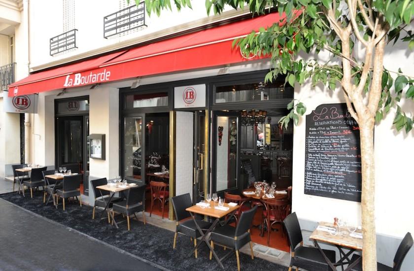 La Boutarde Un Restaurant Du Guide Michelin 92200 Neuilly Sur Seine