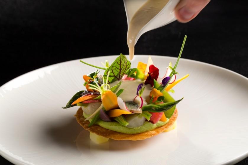 J r me nutile restaurant gastronomique restaurant 1 for Entree gastronomique originale