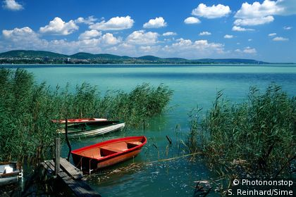 Lake Balaton in Tihany