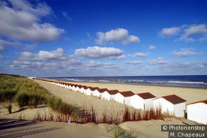 Texel Island, De Koog beach