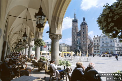 Market square in Krakow, Church of Our Lady (Unesco)