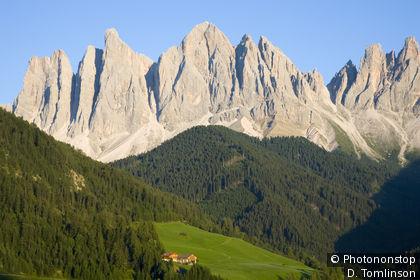 Villnösser Tal in den Dolomiten