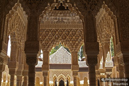 Detail of Alhambra architecture