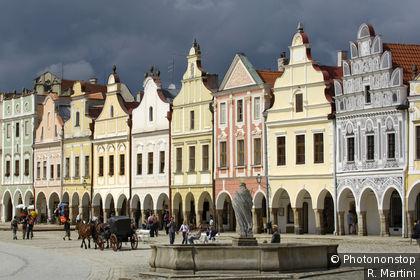 Market square, Telc