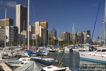 View of Durban Marina