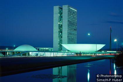 Parliament buildings in Brasilia