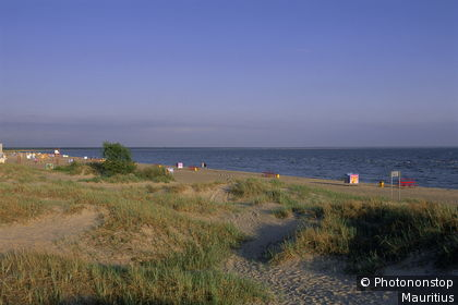Pärnu Beach in summer