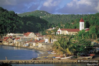 View of Marigot