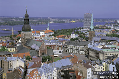 General view of Riga