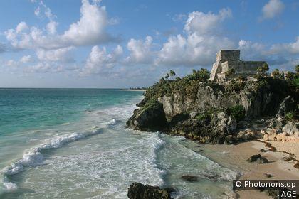Ruinas mayas en Yucatán