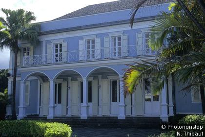 General Council building in Saint-Denis
