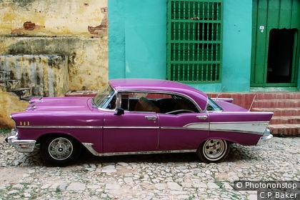Chevy Bel-Air dans les rues de Cuba