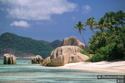La Digue, spiaggia dell'Anse Source d'Argent
