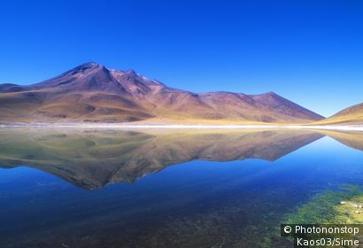 Chili, Désert d'Atacama - Miscanti Lagoon