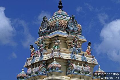 Temple hindou à Port Louis