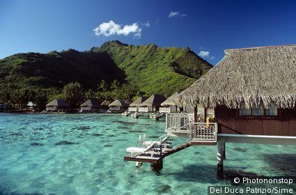 Polynésie française, Îles de la Société, Moorea, Océanie, Océan Pacifique - Sheraton Resort