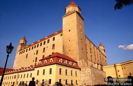 Castle and Palace. Bratislava, West, Slovakia