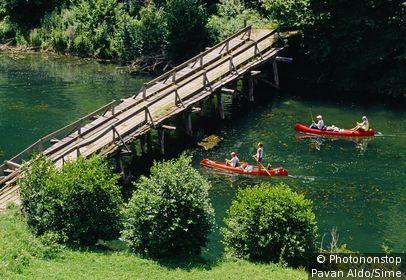 Slovénie ;Slovénie - Slovenia, Slovenija, Slovenia, Carniola area, Krka river near Zuzemberk