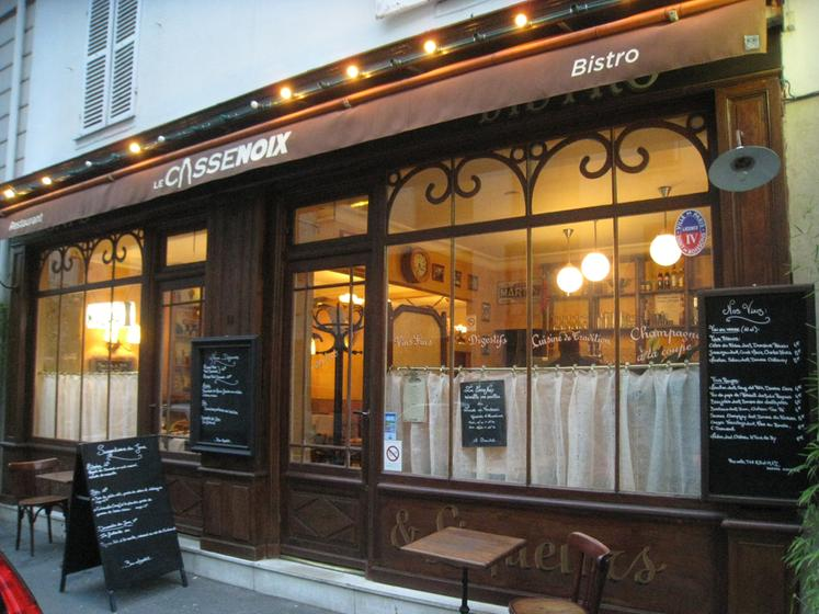 Le casse noix un restaurant du guide michelin 75015 paris 15 - Les encombrants paris 15 ...