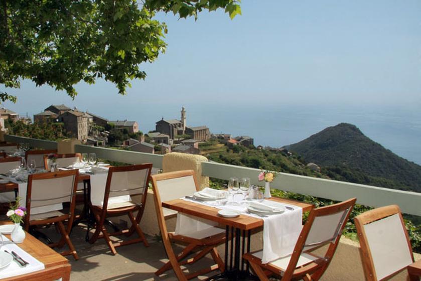 La corniche restaurant bib gourmand michelin 20200 san martino di lota - Restaurant la coorniche ...