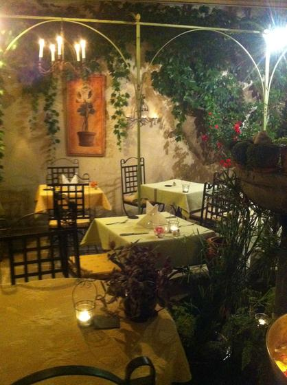Cote jardin restaurant traditionnel classique 84300 for Jardin lamartine