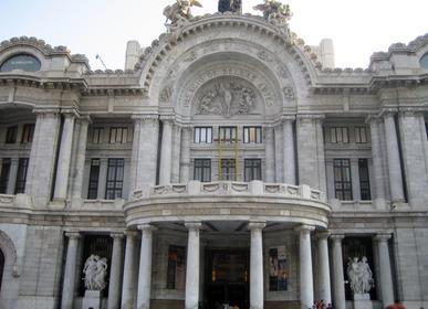 Teatro de Bellas Artes en Méjico D.F.