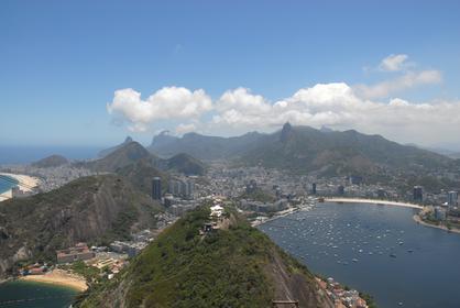 Vue de Rio de Janeiro depuis le Pão de Açucar