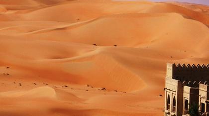 Liwa Desert at Qasr al Sarab, Abu Dhabi, UAE