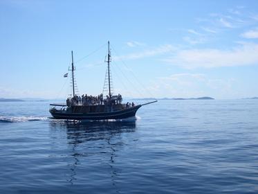 Croatie, bateau traditionnel