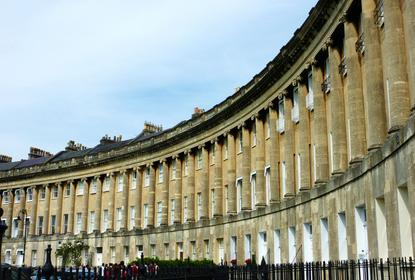 Royal Crescent, Bath, UK