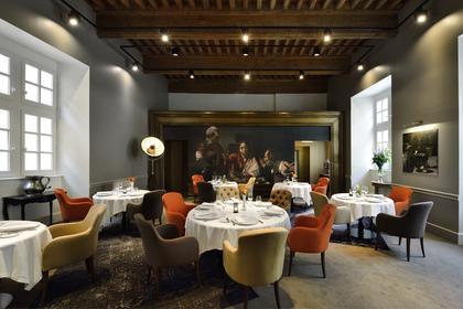 py r restaurant 1 toile michelin 31000 toulouse. Black Bedroom Furniture Sets. Home Design Ideas