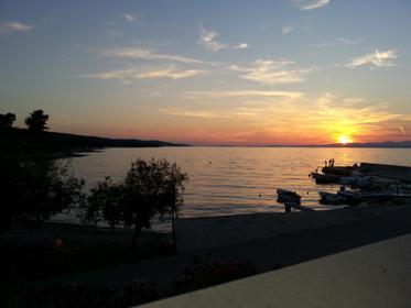 Sunset in Mirca, Island of Brac
