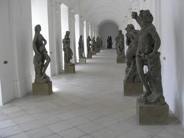 Klaster Kladruby - Lapidárium Matyáše Bernarda Brauna
