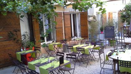 La mirande un restaurant du guide michelin 84000 avignon for Restaurant jardin anglais