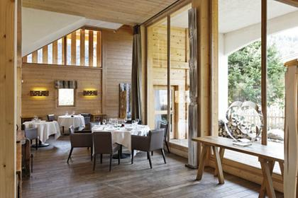Flocons de sel restaurant 3 toiles michelin 74120 meg ve for Hotels 3 etoiles megeve