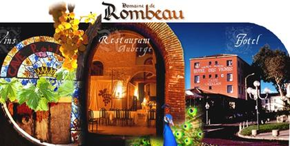 Domaine de rombeau restaurant traditionnel classique for Restaurant rivesaltes