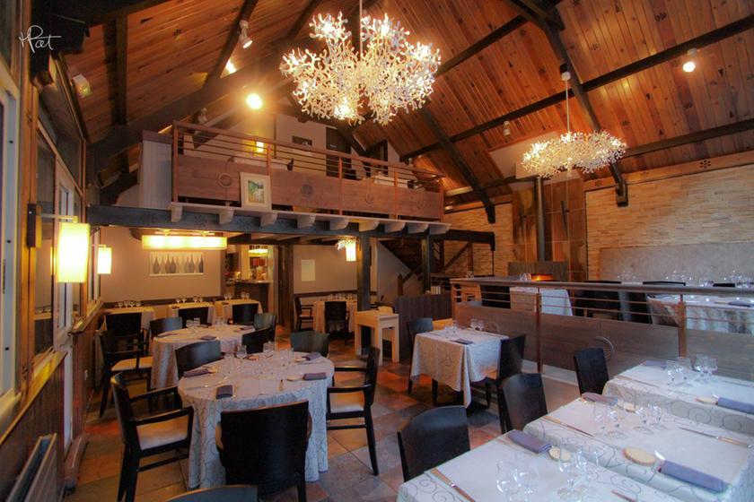 L 39 abri du benques un restaurant du guide michelin 65110 for Restaurant abri paris