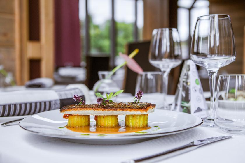 Les jardins de sophie restaurant 1 toile michelin 88400 for Les jardin de sophie restaurant