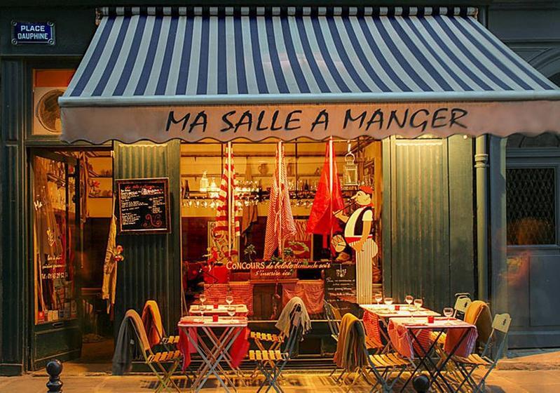 Ma salle a manger restaurant traditionnel classique for Salle a manger paris 5
