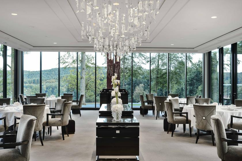 villa ren lalique restaurant 2 toiles michelin 67290. Black Bedroom Furniture Sets. Home Design Ideas