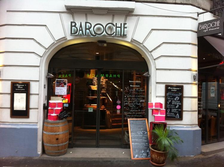 baroche caf brasserie restaurant traditionnel. Black Bedroom Furniture Sets. Home Design Ideas