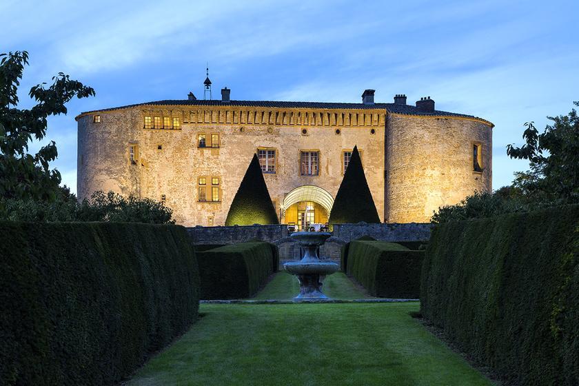 Restaurant Chateau De Bagnols
